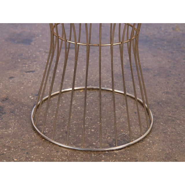 Warren Platner Style Wire Stool For Sale In New York - Image 6 of 7