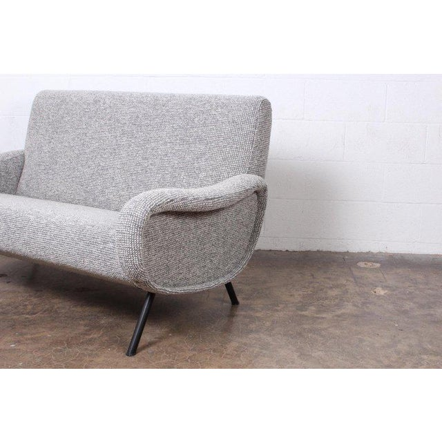 """Mid-Century Modern Marco Zanuso """"Lady"""" Settee For Sale - Image 3 of 8"""
