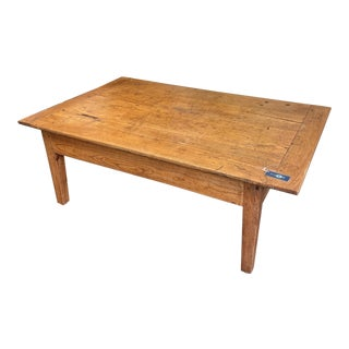 Vintage Baker's Dough-Box Coffee Table For Sale