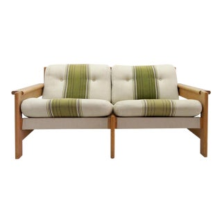 1970's Vintage Bernt Petersen Loveseat Sofa For Sale