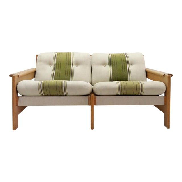 1970's Vintage Bernt Petersen Loveseat Sofa For Sale