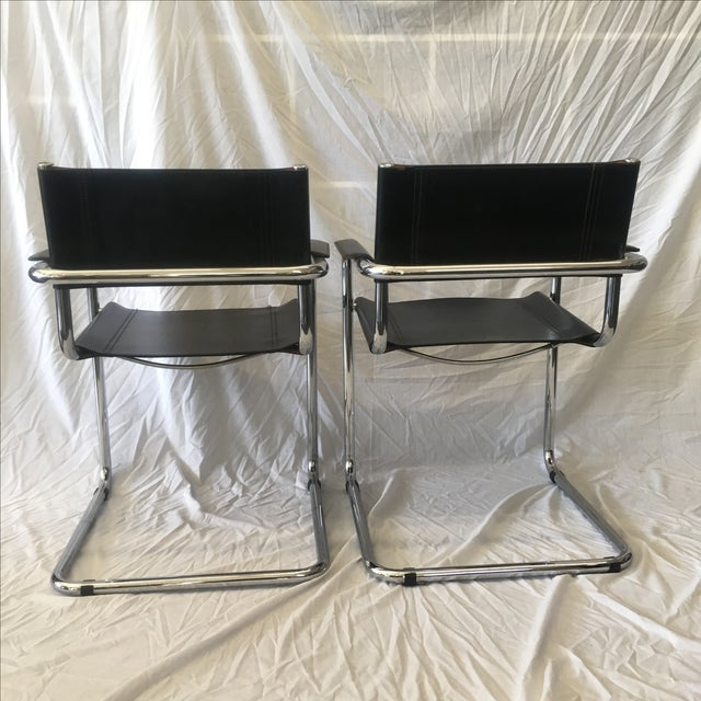 Cantilever Chairs by Marcel Breuer - Pair - Image 7 of 10