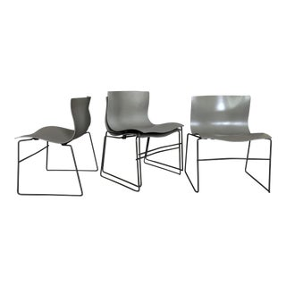 "Massimo Vignelli for Knoll ""Handkerchief"" Chairs - Set of 4 For Sale"