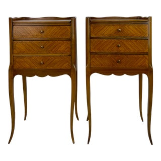 Late 19th Century Kingswood Bedside Cabinets - a Pair For Sale