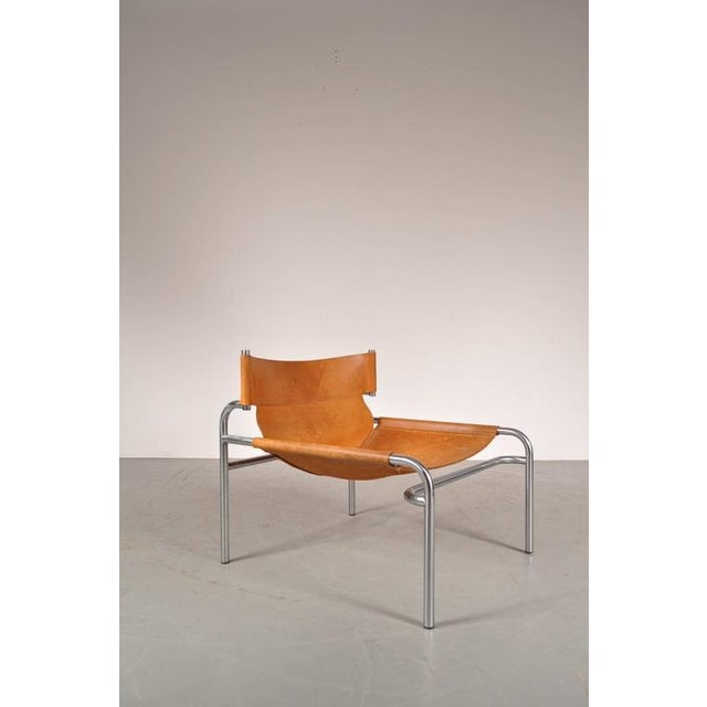 """Lounge Chair """"sz12"""" by Walter Antonis for Spectrum, Netherlands, circa 1970 - Image 2 of 9"""