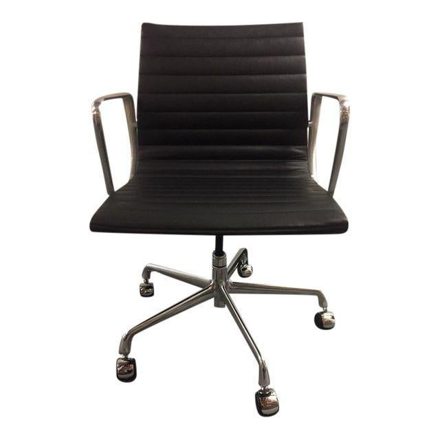 Eames Leather Office Chair - Image 1 of 5