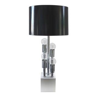 Mid-Century Modern Chrome Table Lamp For Sale