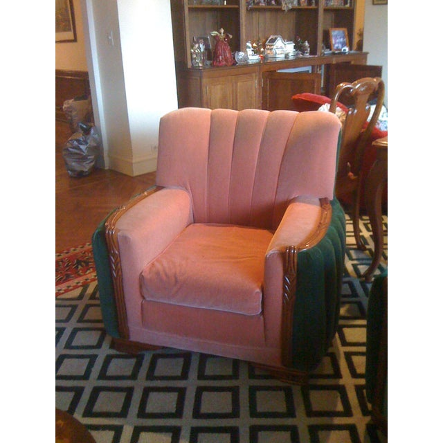 1920s Art Deco Club Chair - Image 2 of 3