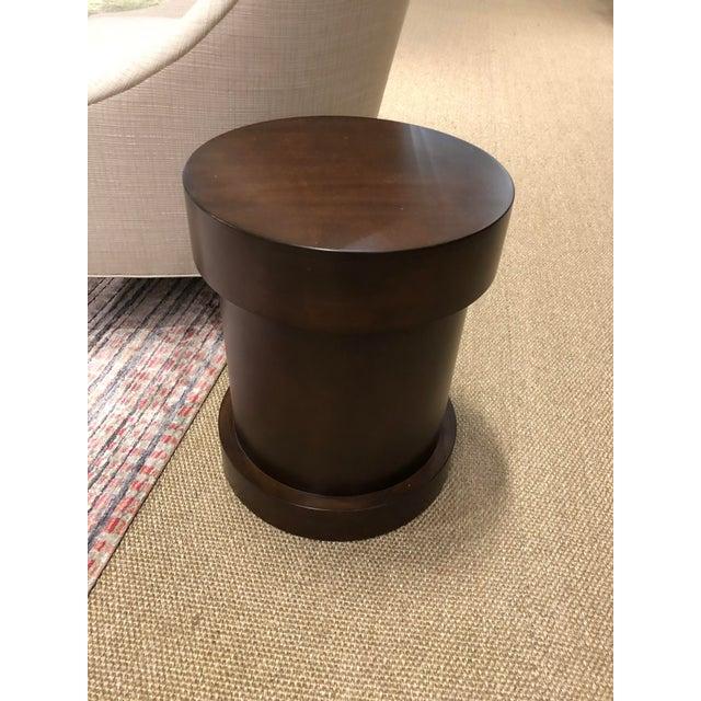 Syosset floor sample Essex side table Alder wood