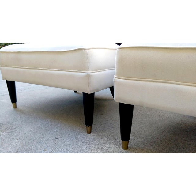 Modern Contemporary Slipper Lounge Chairs - Pair - Image 7 of 10