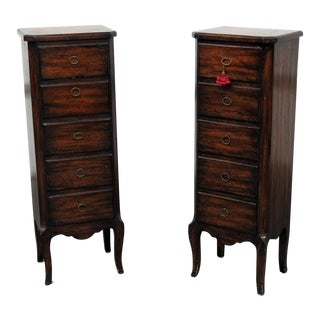 20th Century Louis XV Style Lingerie Chests - a Pair For Sale
