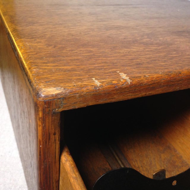 Early Twentieth Century Wooden Library Card Catalog For Sale - Image 11 of 13