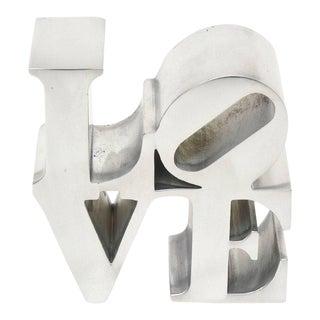 "Robert Indiana 'Love"" Paperweight or Sculpture"