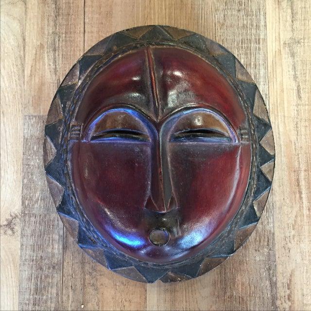 Decorative Kpan Mask Baule Tribe, Ivory Coast - Image 2 of 7