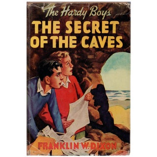 The Secret of the Caves by Franklin W. Dixon For Sale