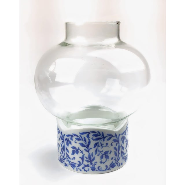 1970s 1970s West Germany Candle Holder With Glass Dome - a Pair For Sale - Image 5 of 13