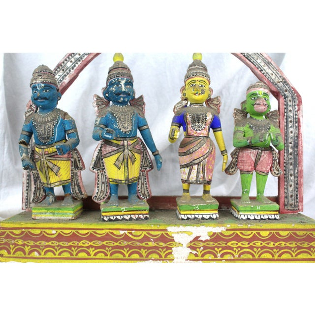 Antique Thai Shrine Decorative Object For Sale - Image 4 of 6