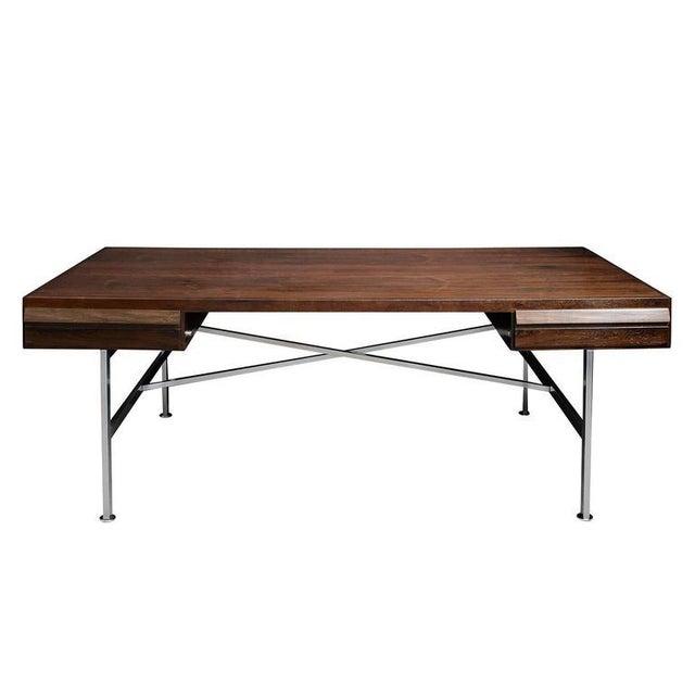 Contemporary Illum Wikkelsø Rosewood Desk For Sale - Image 3 of 10