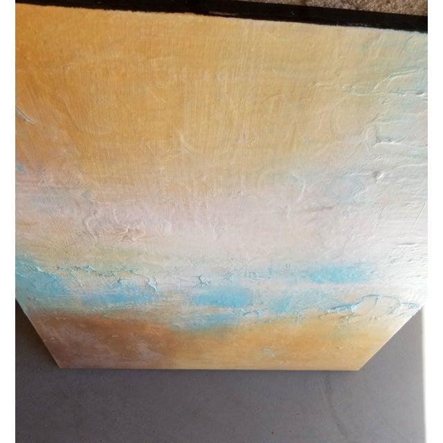 Original Textured Modern Art Landscape Painting For Sale - Image 4 of 4