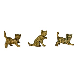 Brass Cats - S/3 For Sale