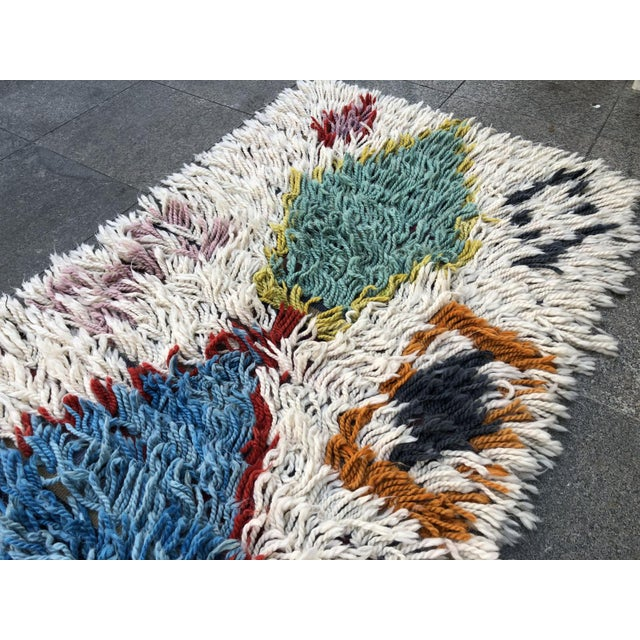 Tan 1970s Vintage Hand-Knotted Turkish Runner Rug - 2′9″ × 12′ For Sale - Image 8 of 11