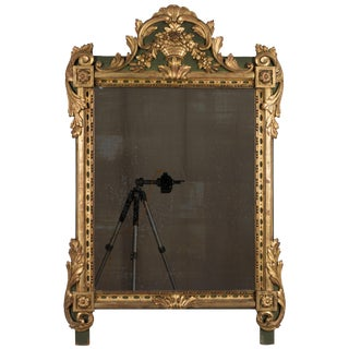 19th Century French Régence Style Parcel-Gilt Mirror For Sale