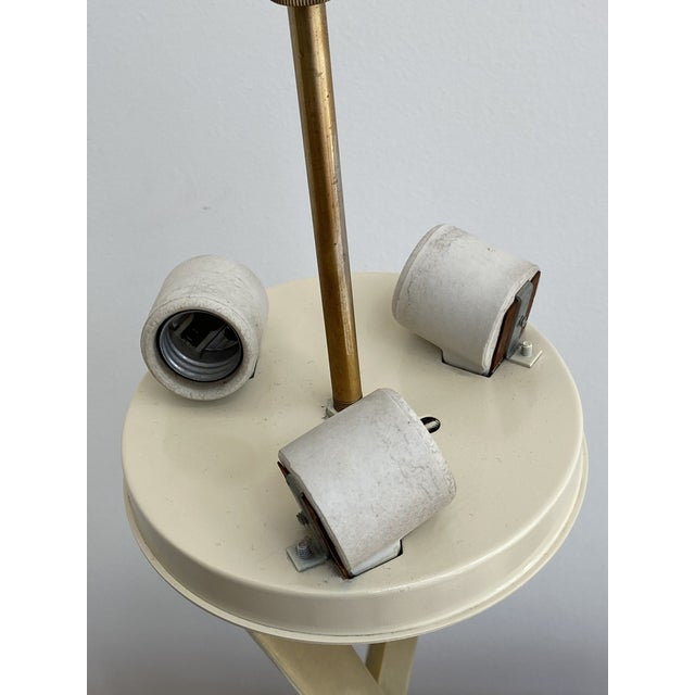 1960's X-Base Table Lamp by Laurel For Sale In San Francisco - Image 6 of 13