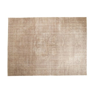 "Vintage Distressed Sparta Carpet - 8' X 10'9"" For Sale"
