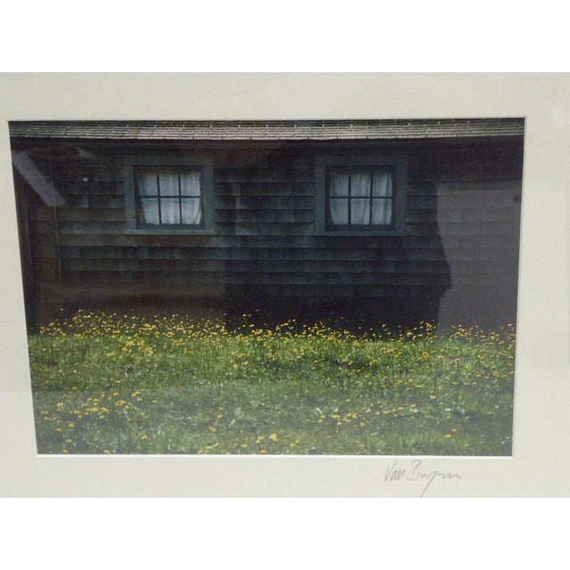 American Covered Windows by Van Brynn Framed Color Photograph For Sale - Image 3 of 5