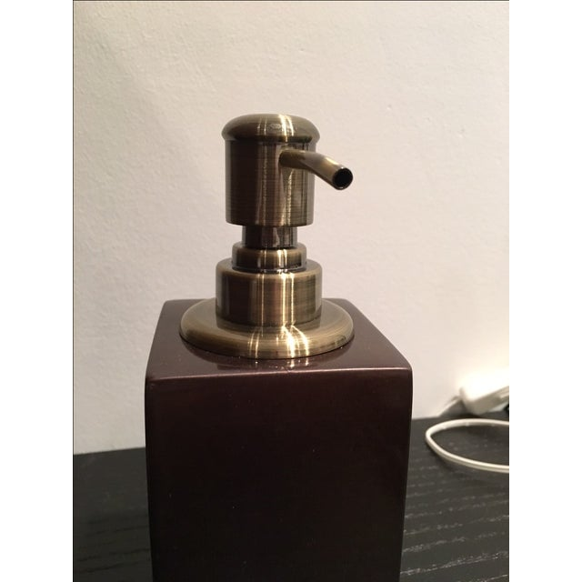 Contemporary Soap Dispenser For Sale - Image 4 of 5