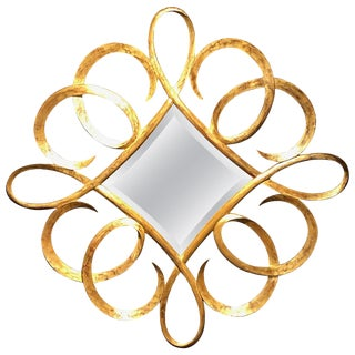 Christopher Guy Spectacular Diamond Shaped Mirror For Sale