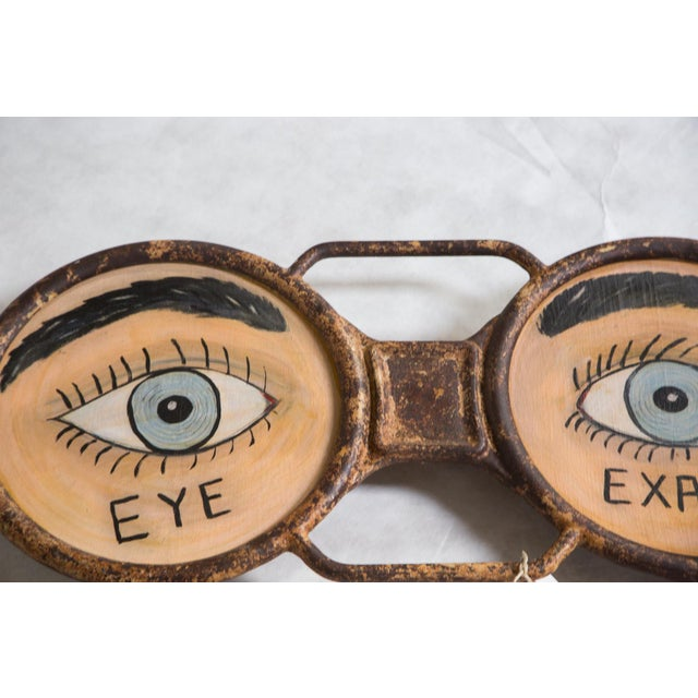 Vintage Eyeglass Sign - Image 2 of 5