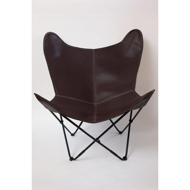 Campaign Argentine Import BKF Original Design Butterfly Chair For Sale - Image 3 of 7
