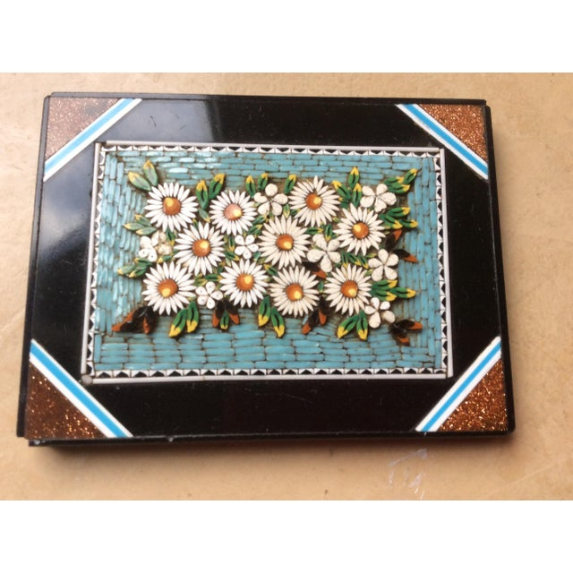 Mid-Century Modern 19th Century Micro Mosaic Paper Weight For Sale - Image 3 of 4