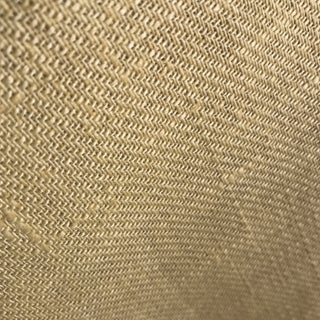 Elizabeth Eakins Pale Yellow Linen Fabric For Sale