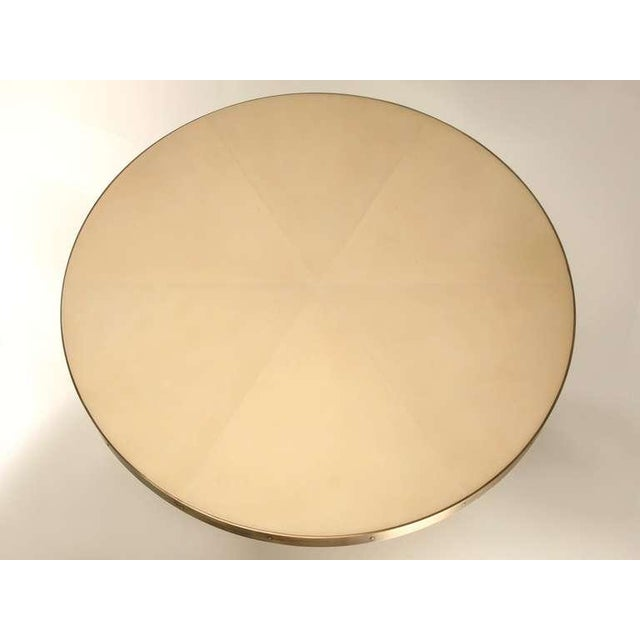 Custom-Made Woven Solid Bronze Table Base For Sale - Image 4 of 11