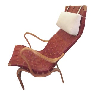 Bruno Mathsson High Back Eva Lounge Chair by Karl Mathsson