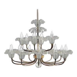 1960s Hollywood Regency Emil Stejnar Chandelier For Sale