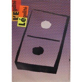1989 Original Poster for Artis 89's Images Internationales Pour Les Droits De l'Homme Et Du Citoyen - Domino For Sale