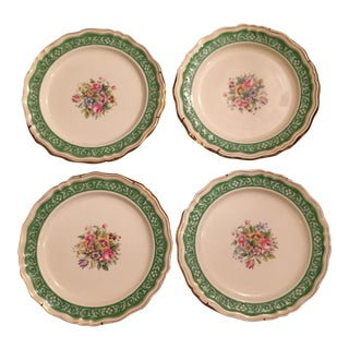 Tiffany and Co. Gold Rimmed Plates - Set of 4 For Sale