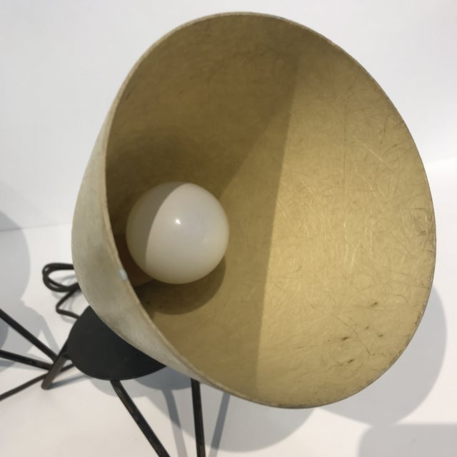 Mid-Century Fiberglass Lamps - A Pair For Sale - Image 5 of 6