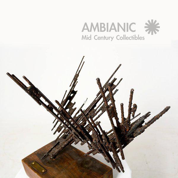 1977 Stanyo Kaminsky Brutalist Sculpture For Sale - Image 4 of 8