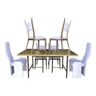 Harvey Probber Dining Table With 6 Chairs Mid Century For Sale