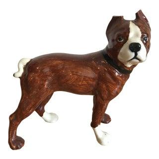 1970s Vintage Bulldog Figurine For Sale
