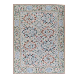 """Pasargad Aubusson Hand Woven Wool Rug - 8'10"""" X 12' 0"""""""
