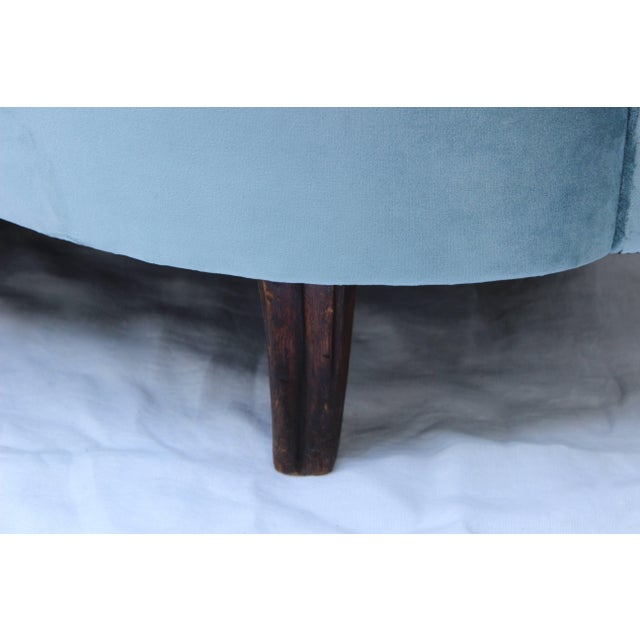 Textile Italian Loveseat by Andrea Busiri Vici For Sale - Image 7 of 10