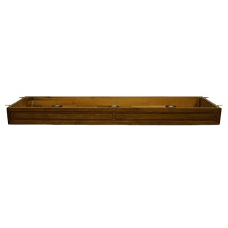 "20th Century Traditional Thomasville Furniture Origins Collection Pier Group 64"" Light Bridge For Sale"