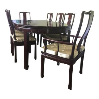 Rosewood Dining Table & Chairs