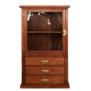 Early 20th C. Pine Cabinet For Sale