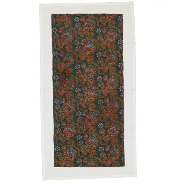 Printed cotton fabric panels like this were produced in Russia at the end of the 19th century and were increasingly...